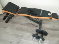 65 SGD (u.p. 300 SGD) - Home exercise weight bench SINGAPORE