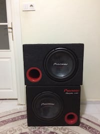 pioneer subwoofer 1400 w İstanbul, 34935