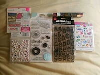 NEW! Shimmer, Food & Travel Scrapbooking Supplies Las Vegas, 89128