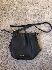 black leather 2-way bag Winnipeg, R2K 4A1