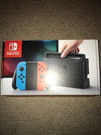 White and black nintendo switch box Edmonton, T5M 0Y8