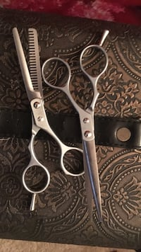 Professional hair stylist scissors. Never been used.  Edmonton, T5H