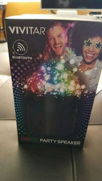 Brand new Bluetooth light up party speaker with LE Phoenix, 85035