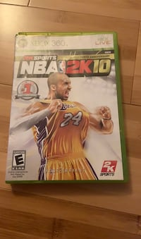 Xbox 360 2K Sports NBA 2K10 Beltsville, 20705