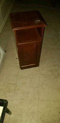 brown wooden 2-door cabinet Sudbury, P3E 2P6