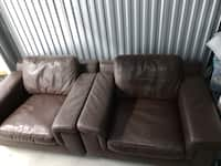 Terrific Used Brown Leather Couch For Sale In Seattle Letgo Machost Co Dining Chair Design Ideas Machostcouk
