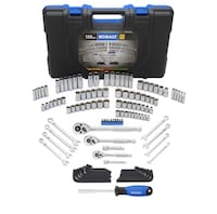 Kobalt 138 piece SAE Mechanics Toolset, Chrome Polished Plainfield, 07060