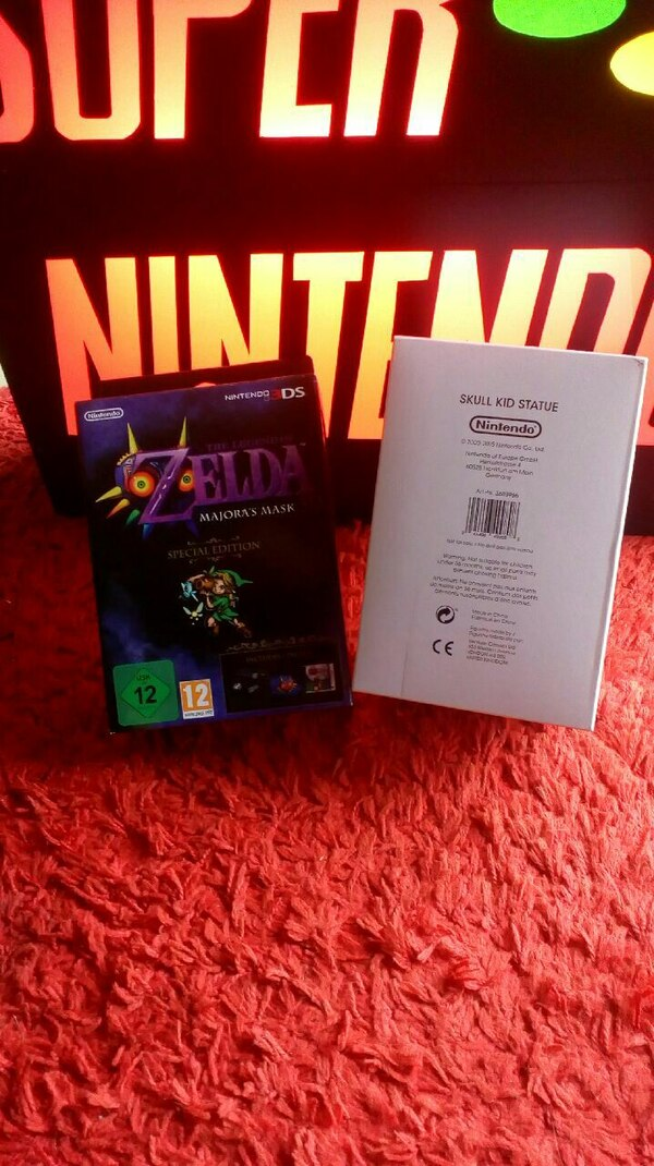 Zelda Majoras Mask limited Editions Nintendo 3ds