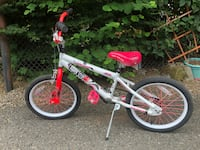 white and red BMX bike Seattle, 98146