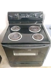 black electric coil range oven San Antonio, 78237