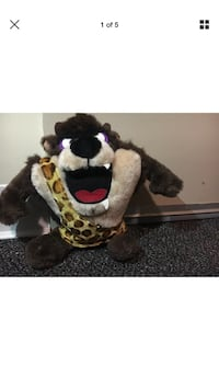 black and brown bear plush toy
