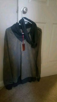 black and gray zip-up hoodie Centreville, 20120
