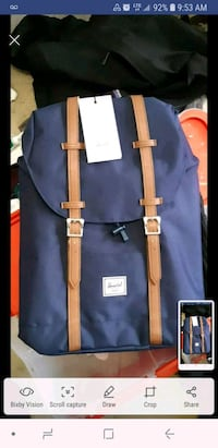 Herschel Backpack BRAND NEW with TAGS attached Langley, V2Y 1A2