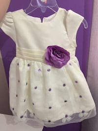 Dress used once size 12 months. Toronto, M3L 1L5