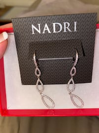 Brand new NADRI elegant earrings. With price tag for 95 Toronto, M3A 2G4