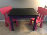 Child table and chairs Nokesville, 20181