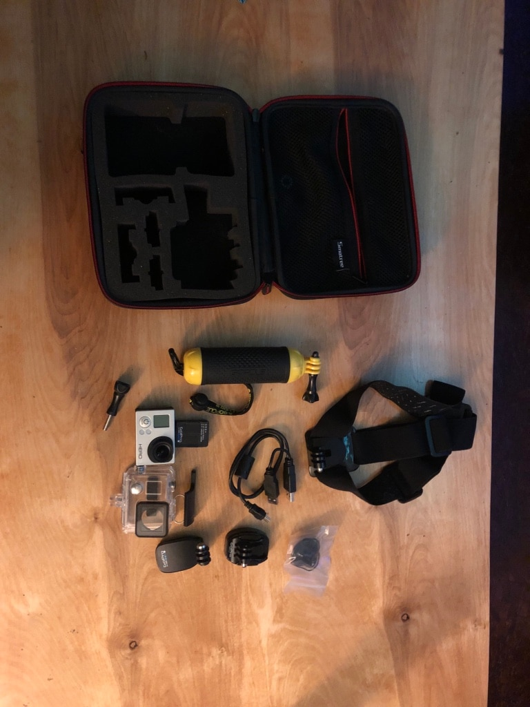 silver GoPro Hero 3 + set for sale  Monroeville
