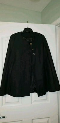 Black wool, lined, cape West Palm Beach, 33410