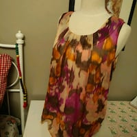 Sleeveless sheer blouse  Mississauga, L4T 3L6