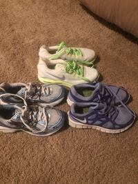 Women's tennis shoes .. scroll for prices and sizes  Staunton, 24401