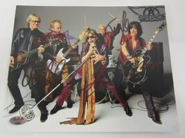 STEVEN TYLER and More AEROSMITH Hand Signed 8X10 PHOTO