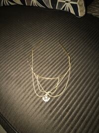 silver-colored chain necklace Brownsville