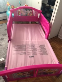 Brand new princess bed. Giving away the matress for free.