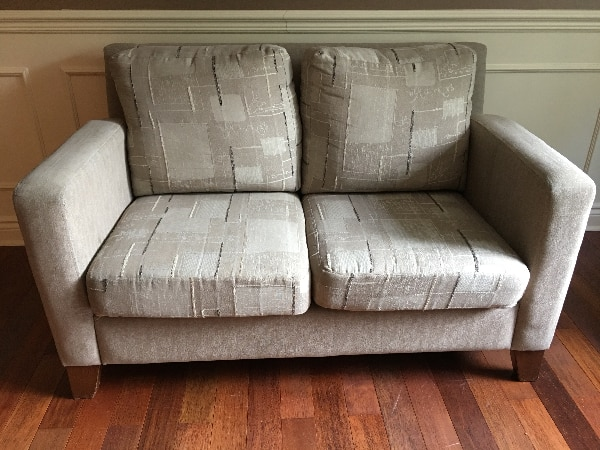 Used New Price Sofa Loveseat By Bugatti Design Couch
