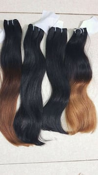 women's black hair wig 40 km
