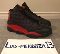 Jordan Bred 13s from 2013. Size 9. Pre Owned. No Trades Toronto, M6E 4C8