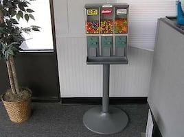 15 machine candy vending route