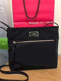 "Brand New Authentic Kate Spade Crossbody bag/ Black / 9.9""H x 11.5""W x 2.5""D Edmonton, T5E 2T3"