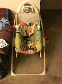 baby's gray and white swing chair Catonsville, 21228