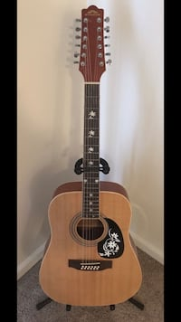 12-String Guitar With Strap Odenton, 21113