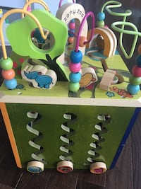 B. Zany Zoo (wood activity cube) Falls Church, 22043