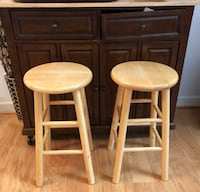 Wooden bar stools Frederick, 21702