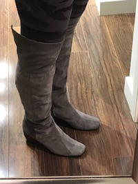 Nine West suede over the knee boot (8.5-9)