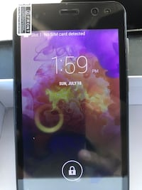 Android unlocked (new) smart phone 5.5 inch