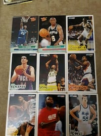 Fleer and fleer ultra nba mix cards (22 cards) West Babylon