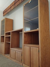 Wooden entertainment center El Paso, 79938