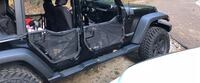 Jeep Wrangler JKU Steel tube doors with covers and mirrors 07-18 $500 Not selling separate Huntsville, 35801