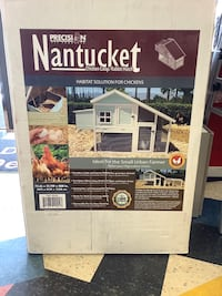 New Dorothy Nantucket Chicken Coop/Rabbit Hutch