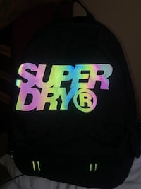 Reflective Superdry Backpack.*Authentic* New York, 11237