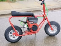 American racer minibike runs great and fast!