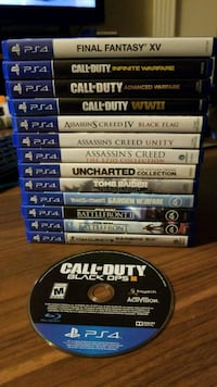 PS4 Games For Sale or Trade Surrey, V3W