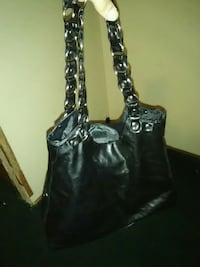 black leather 2-way bag Tallapoosa, 30176