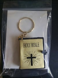 brown and black Holy Bible keychain Willow Grove, 19090