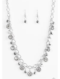 silver-colored necklace with earrings Orlando, 32809