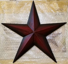 Star Wall / House Decoration - Red - 18.5""