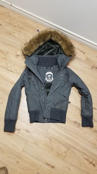black and brown parka jacket Toronto